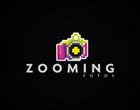 Zooming - Diseño de logotipo