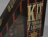 Empaque Kit de Tequila 7 Leguas