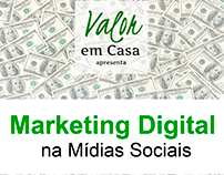 Diagramação do E-Book - Marketing Digital