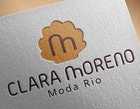 Identidade Visual - Clara Moreno Moda Rio