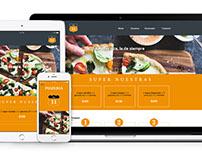 Pizzería KM11 - Web Responsive Design