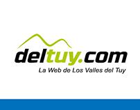 DelTuy.com (Diseño de Logotipo)
