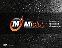 Identidad Corporativa  Centro de actividades Mi Club