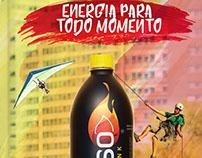 Furioso Energy Drink -  Campanhas (peças Frontlight)