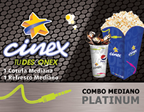 Tickets Combos - CINEX