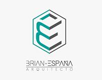 Identidad corporativa Brian España Arquitecto