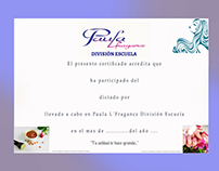 Diseño de certificado