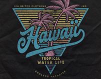 Hawaii Islands a T-shirt design