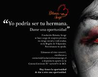Volantes Fundación Betania Acoge