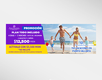Facebook Cover - Plaza Vacation
