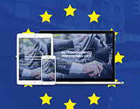 Estar Europeu Responsive Website