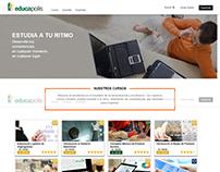 Página web de la empresa educapolis
