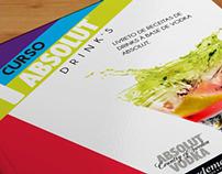 Graphic identity - Absolut vodka drinks workshop