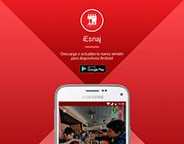 UI - UX App iESNAJ (Android)