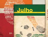 Calendário tipográfico 2011