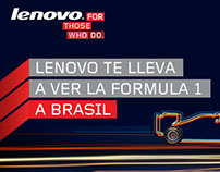 Lenovo - Racing (Facebook App) - Junio 2011