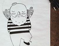 Ilustração: marinheiro