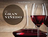 Diseño editorial de Vinos