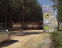 Acceso Camping Punta Viracho