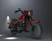 Motocicleta 3D