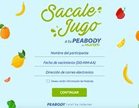 Sacale Jugo a tu Peabody