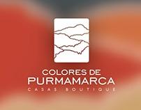Colores de Purmamarca · Isologotipo y aplicaciones