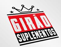 Girão Suplementos - Logotipo/Identidade Visual
