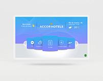 Protótipo para hotéis: portal de facilidades.