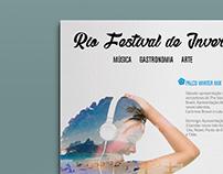 Rio Festival de inverno   Cartaz