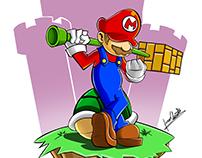 Bad Mario.