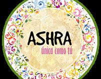 Logo, tarjetas y etiquetas ASHRA
