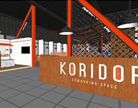 Enviromental Design of Koridor Coworking Space