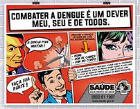 Flyer Combate a Dengue.