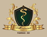 Brasão para turma de Medicina da FAMINAS-BH