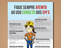 Fique atento ao uso correto dos EPI's! | Grupo Bertanha