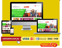 eCommerce - Como en TV (Ecuador)
