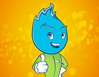 Mascota MetroGas