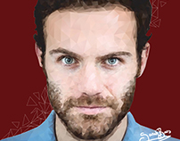 Juan Mata - Low poly