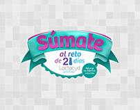 Promotional Website - Reto de 21 días
