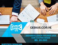 Diseño de Imágenes para Redes Sociales: Geekus