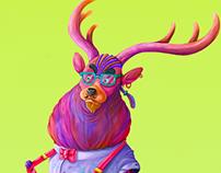 Lindo the Funk deer