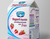 Alpina Yogurt Packaging