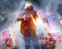 inFAMOUS second son (PS4 alternate cover)