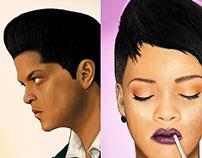 fame Rihanna & Bruno