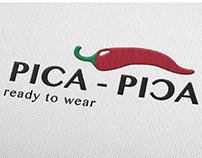 Logotipo para Pica - Pica. Ready to wear.