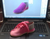 Diseño de calzado 3D (Shoe Design)