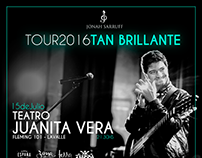 "Jonah Sarruff - Tour 2016 ""Tan Brillante"""