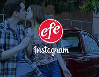 Helados EFE - Fotografía para redes sociales