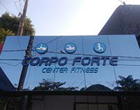 Fachada Academia Corpo Forte.