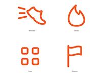 Diseño de programa de pictogramas para la APP Megatlon